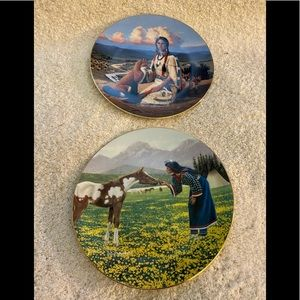 📦Gentle Beauty Nature's Guardian collector plates